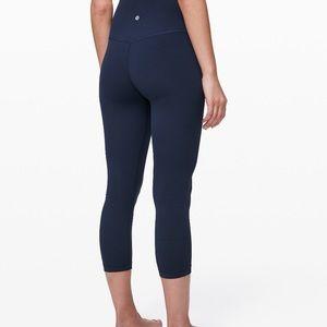 lululemon athletica Pants - Lululemon Align Crop Navy